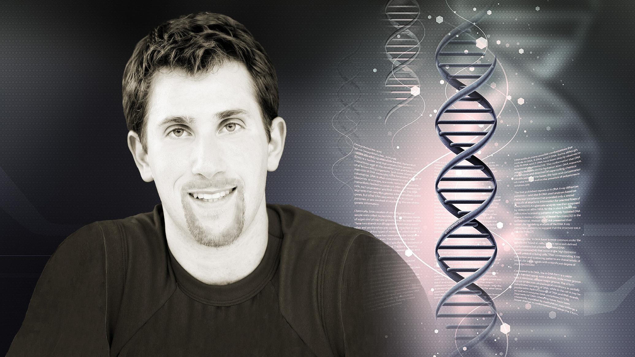 Joel with DNA Strand 3.jpg