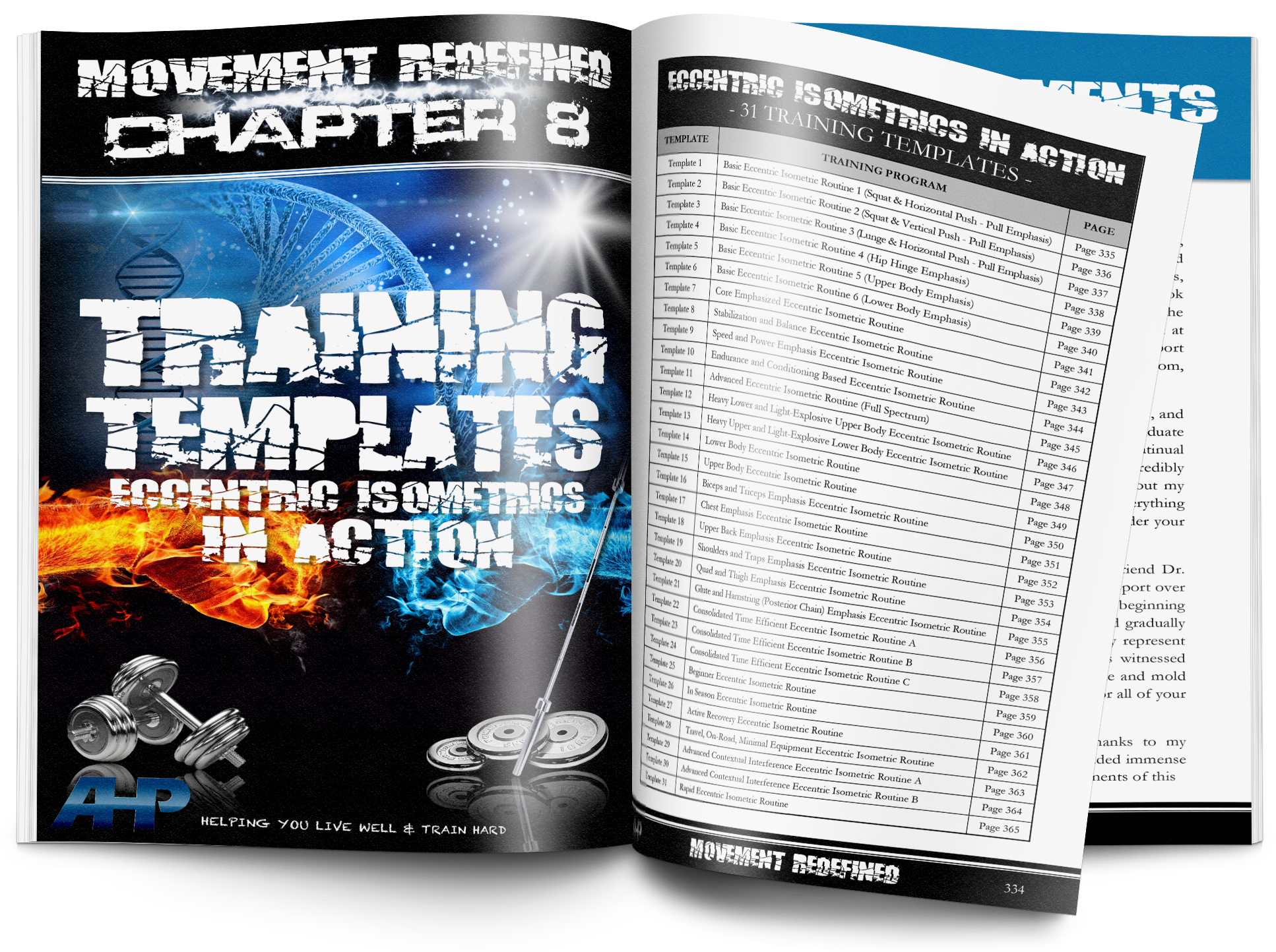 Training Programs | 30+ Eccentric Isometric Routines  + Click to Enlarge