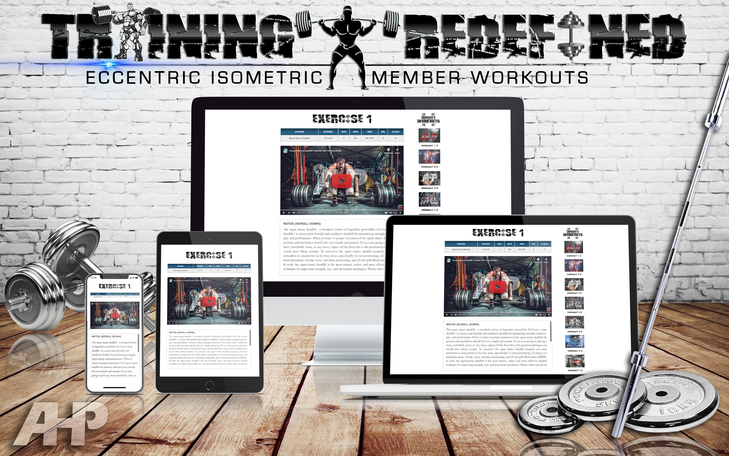 Take a Look Inside a Daily Workout + Click to Enlarge