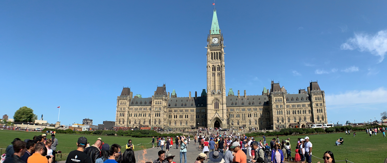 Parliament Hill: 45.423703, -75.698531