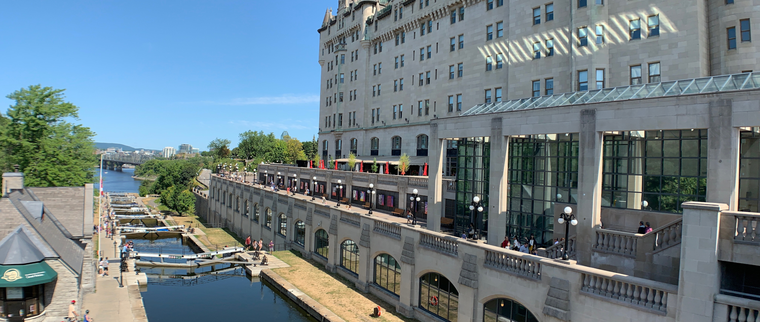 Locks at the Rideau Canal: 45.42484, -75.69509