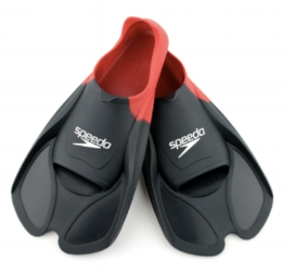 Speedo BioFuse are popular flippers... There are loads of different flippers out there - avoid long diving flippers! TIP - WRITE your name or Bondi Fit code on them...