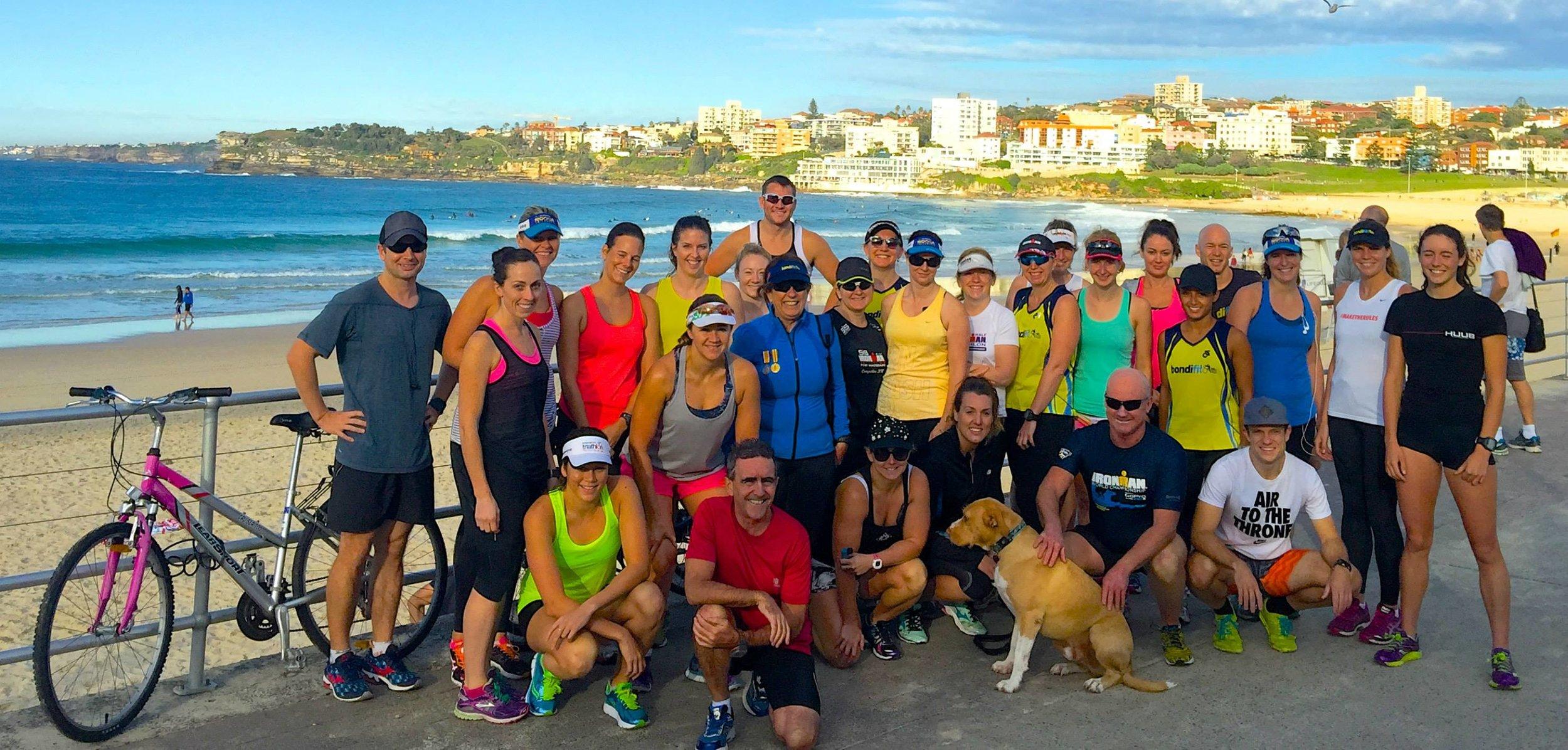 Meet 7:15am for 7:30am start North Bondi Surf Club