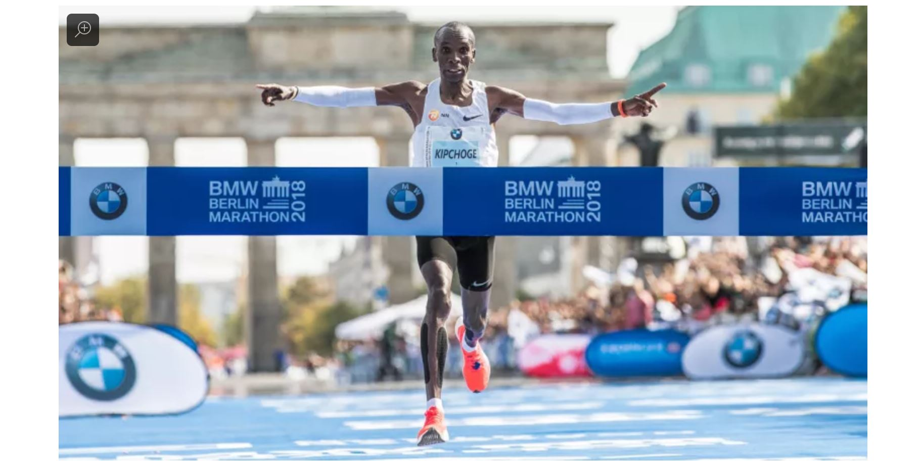 Eliud Kipchoge won the Berlin Marathon this morning in a time of 2:01:39  -   78 seconds faster than Kimetto's previous record mark of 2:02:57.