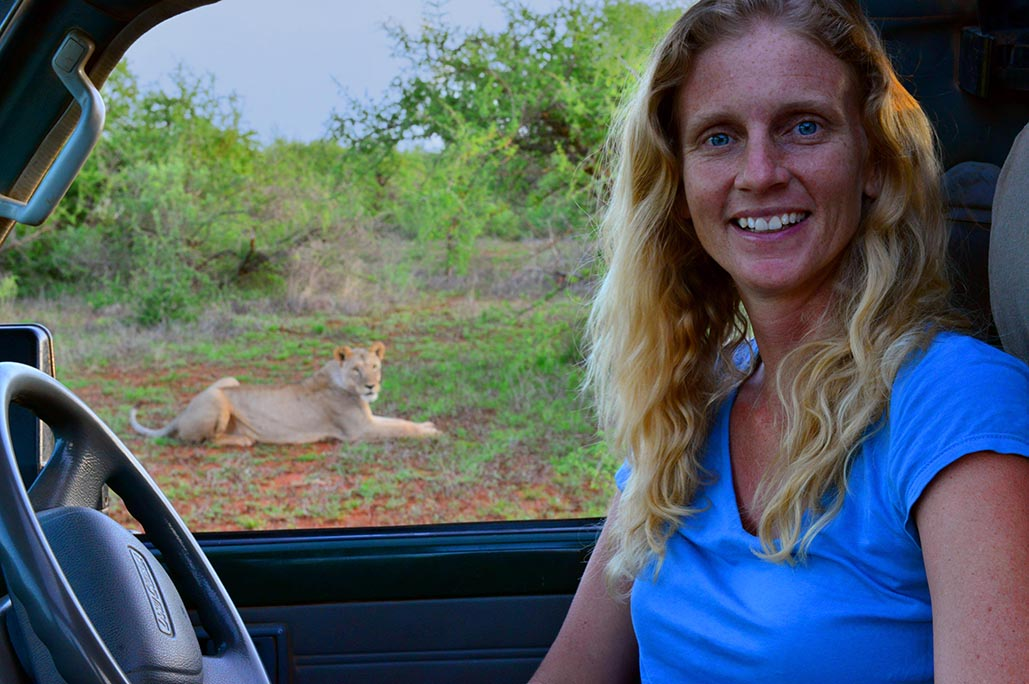 STEPHANIE DOLRENRY, PhD    is Co-founder and Director of Science of Lion Guardians based in Maasailand, Kenya and across sites in East Africa. Stephanie has studied human-wildlife conflict throughout North America and East Africa, and has spent the last 10 years leading a team of lion researchers and Maasai warriors. Stephanie received her PhD from University of Wisconsin, Madison and is a member of the African Lion Working Group, Society for Conservation Biology and The Wildlife Society, and is a research affiliate with the Conservation Conflict Research Institute at the University of Cape Town.     Stephanie's grit and dedication to conservation research, combined with her steadfast commitment to partnering with local communities, has warranted her profound success in reducing retaliatory killings of lions and program growth resulting in Lion Guardians earning the St. Andrews Prize for the Environment.