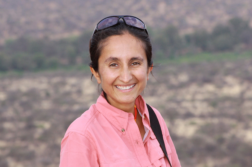 SHIVANI BHALLA, PhD    is Founder and Executive Director of Ewaso Lions in Northern Kenya. A fourth generation Kenyan, Shivani has lived and worked with the Samburu community since 2002. Shivani's passion and commitment to Kenya's lions has earned her outstanding recognition in the conservation field, including the 2014 Whitley Award, 2014 National Geographic Emerging Explorer, and the 2013 Rabinowitz-Kaplan Prize for the Next Generation in Wild Cat Conservation.     Shivani vividly recalls her first wild carnivore siting while on safari in Samburu with her family at 8 years old, and has dedicated her life to lion conservation through community engagement and collaboration in the field. Shivani received her PhD from Oxford University in Zoology, focusing on lions living in community areas. She is a member of the African Lion Working Group, IUCN Cat Specialist Group, and KWS Large Carnivore Taskforce.