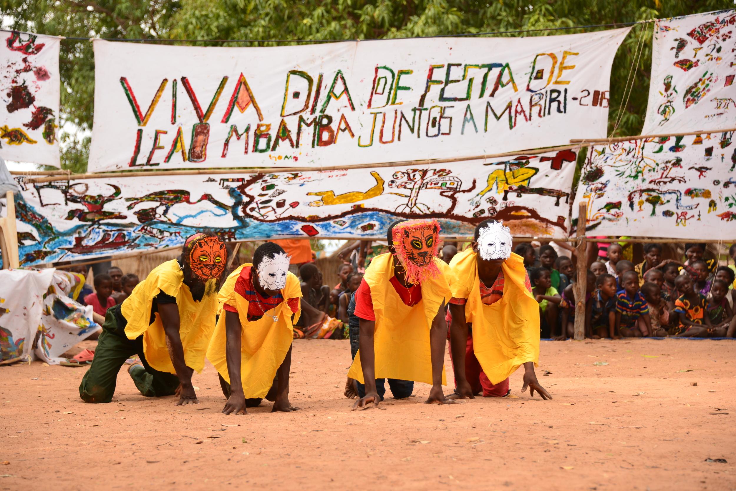 Community conservation programs at Niassa Lion Project