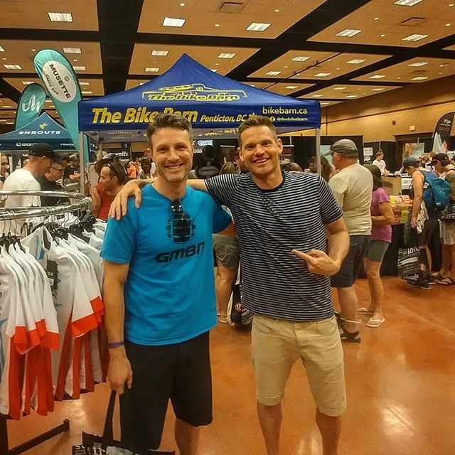 Had a great time working at @thebikebarn booth at the @axelsgranfondo's Expo over the past couple of days! Good luck to everyone riding tomorrow, especially good luck to my brother who will be representing us Symonds' well in the 160k!  #Penticton #pentictonbc #axelmerckxgranfondo #axelsgranfondo #okanagan #cycling #granfondo #thebikebarn