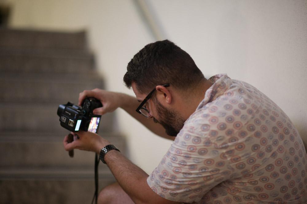 Deuce Bradshaw photographing 3Dimensional Music