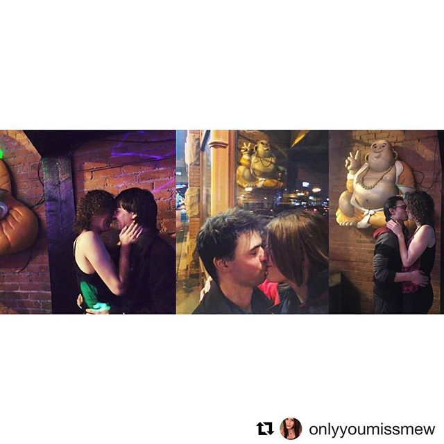 Happy Valentines Day from us to you!  #Repost @onlyyoumissmew with @get_repost ・・・ A kiss on our three year anniversary at the place we met. ❤️ #tradition #kiss #anniversary #love #cute #cutecouple #buddha @funkybuddhayeg