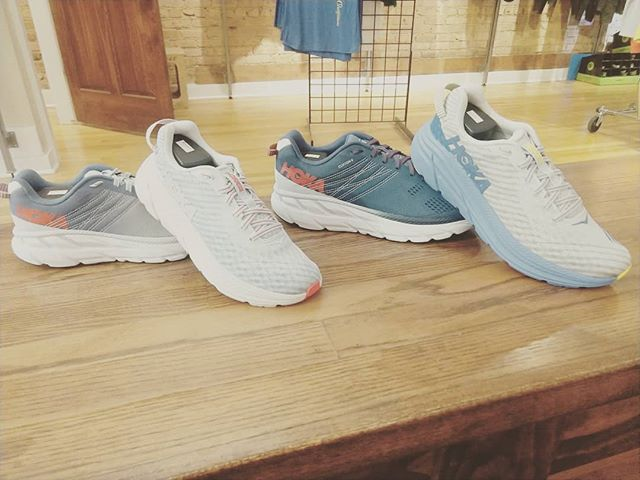 @hokaoneone Clifton 6 and Rincon are here!