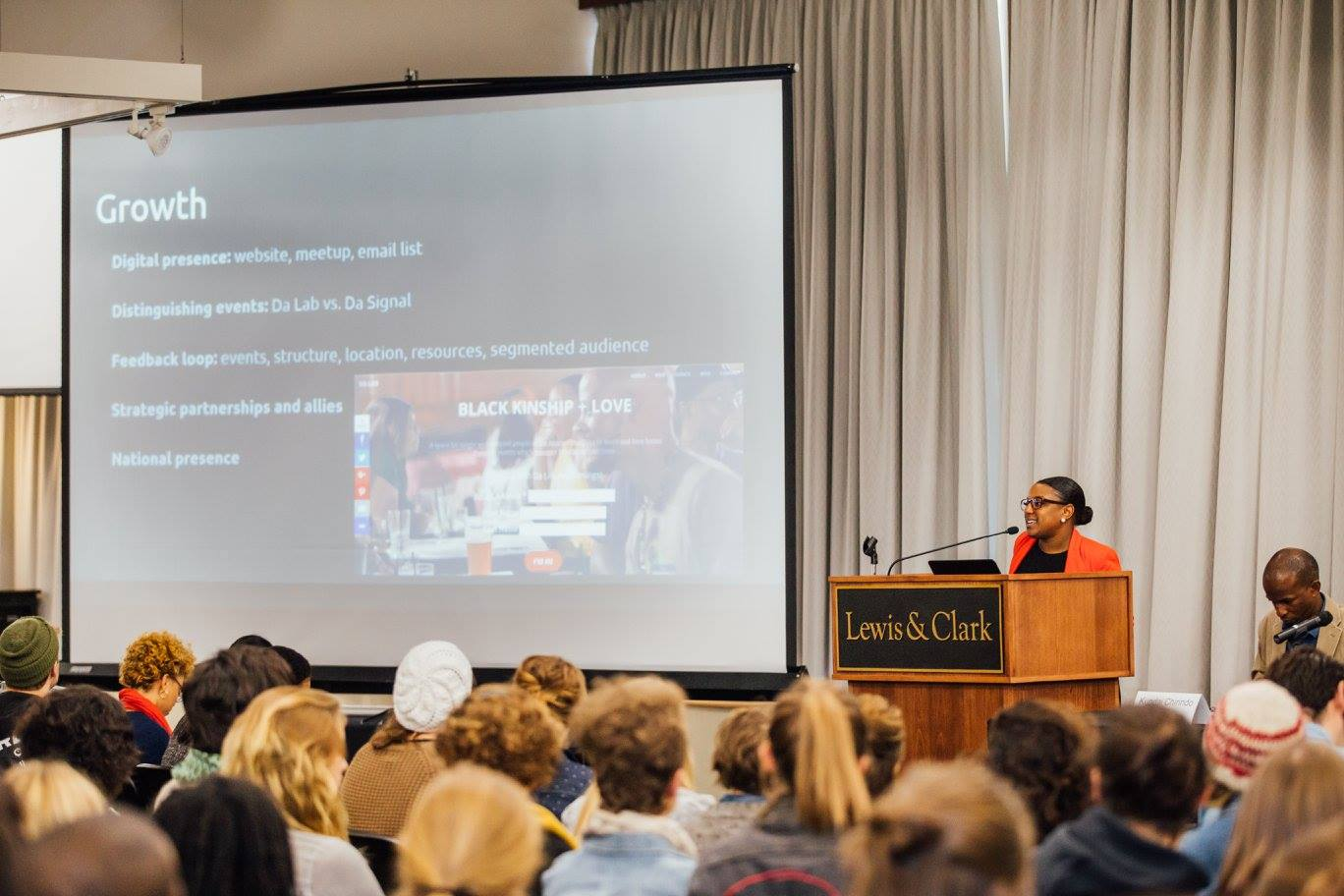 """Presentation at Lewis & Clark's Ray Warren Symposium on Race and Ethnic Studies: """" A Seat at the Table: Experiences of Black Portlanders"""""""