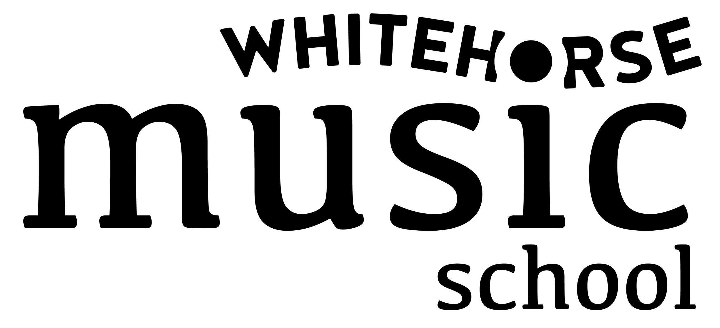 Whitehorse Music School Logo
