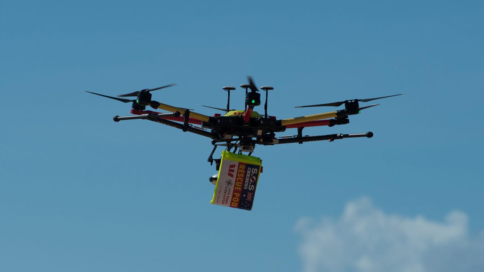 The 'Little Ripper' Rescue Drone. Source: dezeen.com