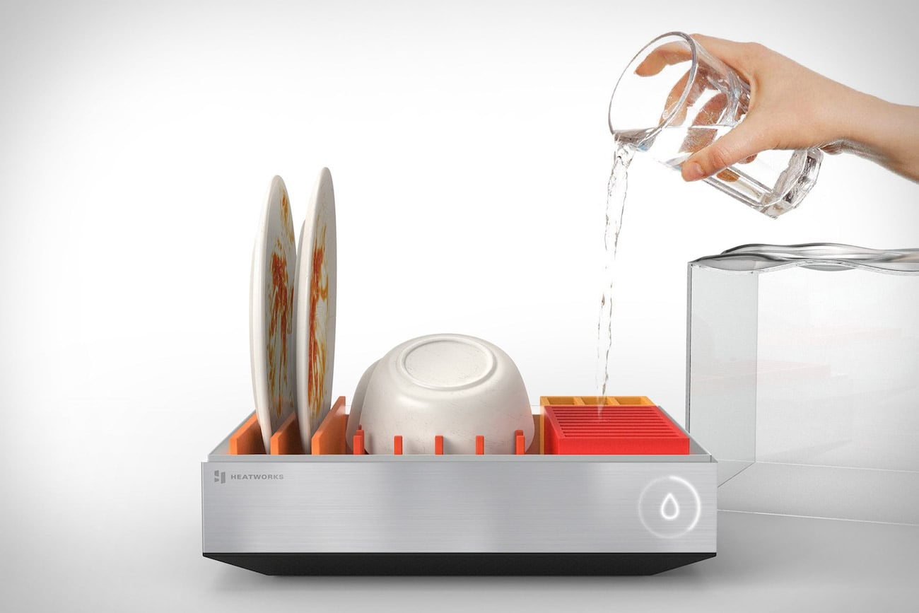 Tetra Countertop Dishwasher. Image Source:  thegadgetflow.com
