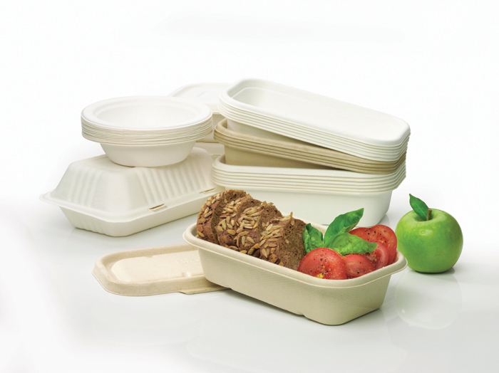BioCane takeaway containers. Image source: http://biopak.com.au