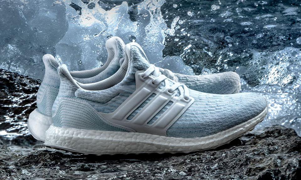 Adidas parley sneakers Image source: www.highsnobiety.com