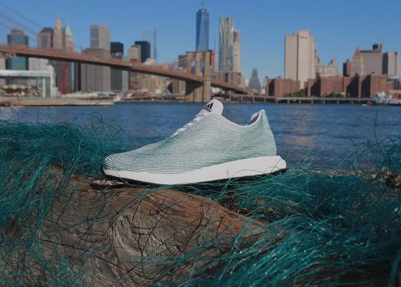Adidas x Parley Image source: www.dezeen.com