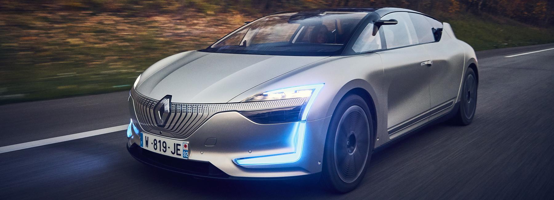 Reanult Autonomous Vehicles Source: www.designboom.com