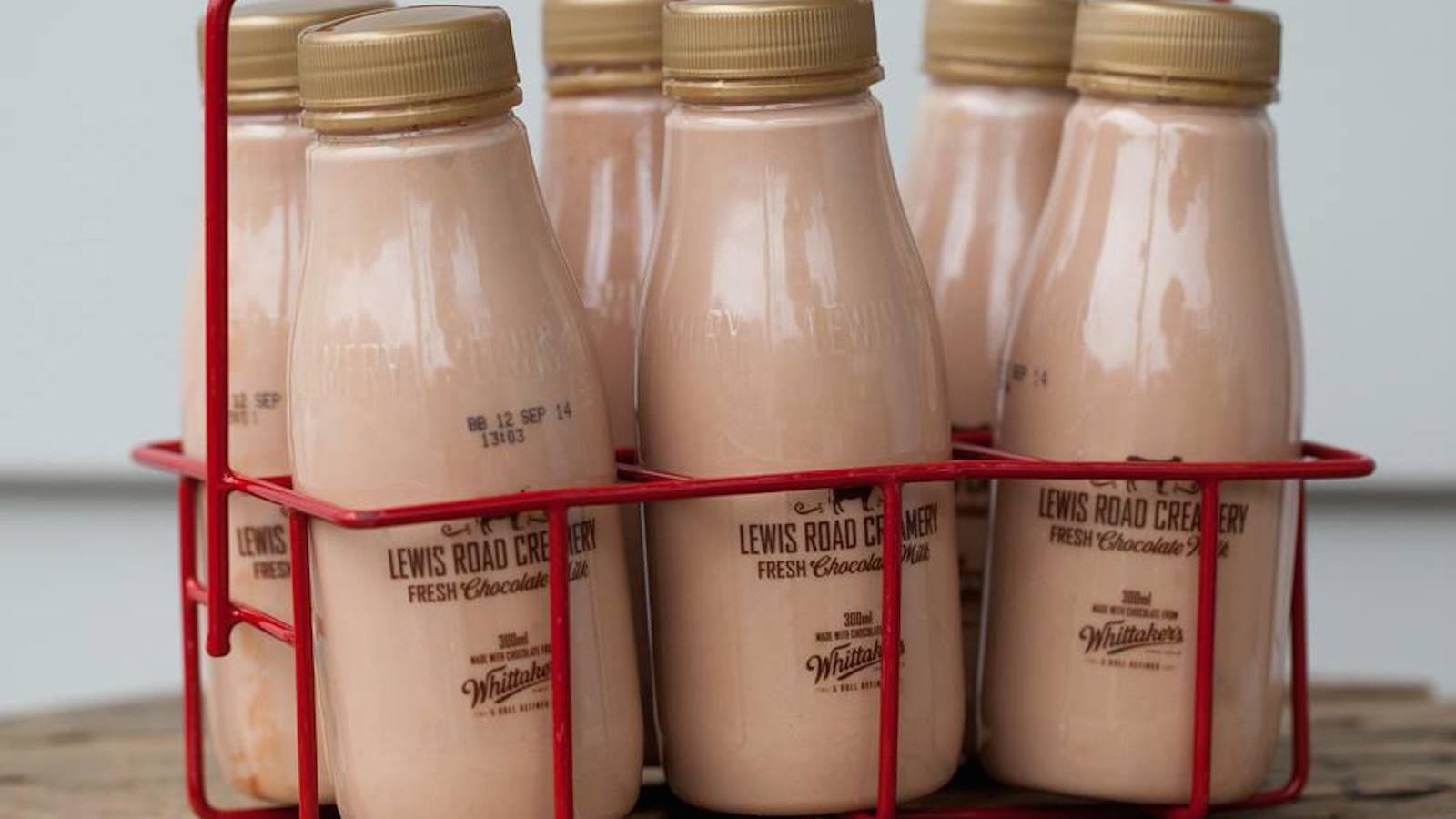 Lewis road cremery's chocolate milk source: qz.com