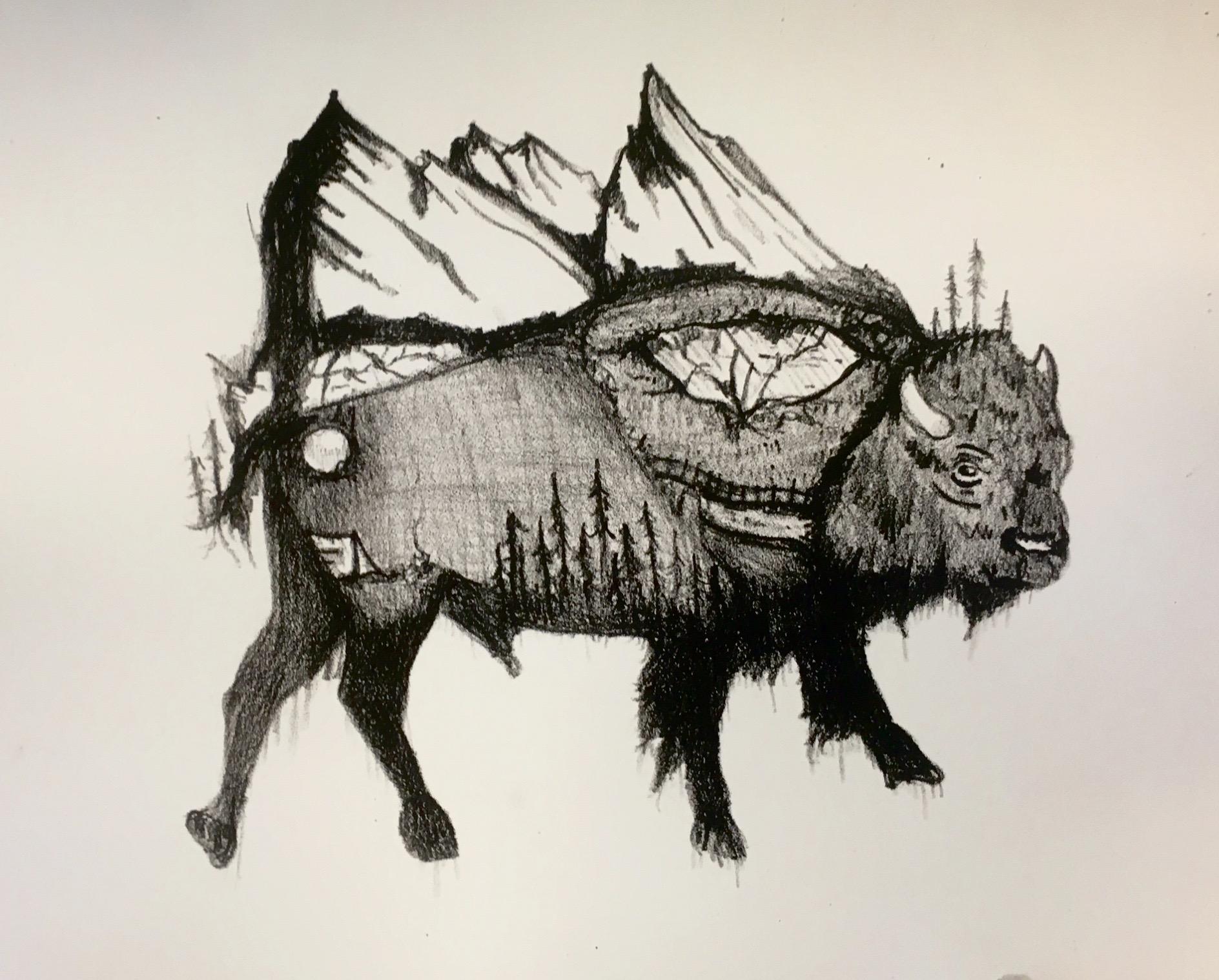 ScarlettReynaud  Goodbye Buffalo  lithograph.jpg