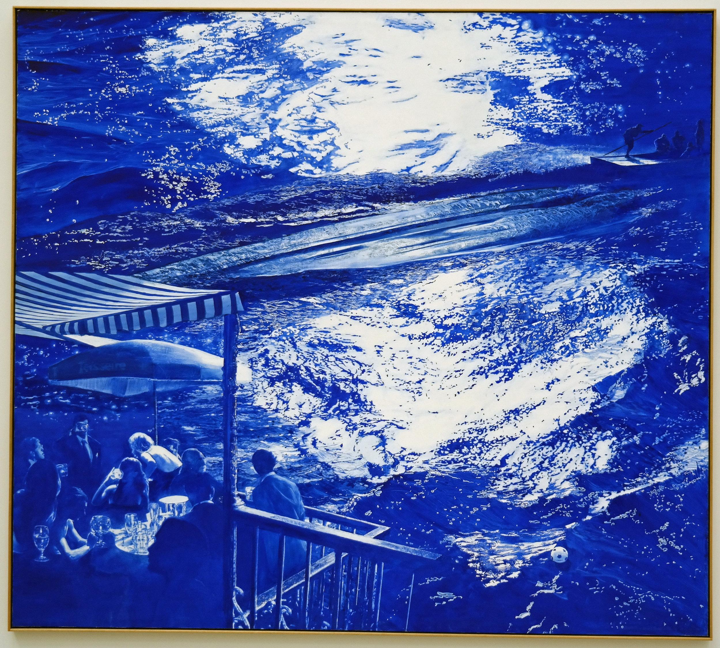 Wake, Mark Tansey, 2003