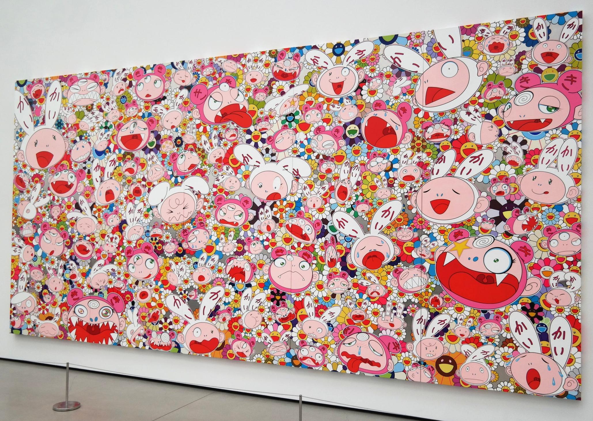 Hustle'n'Punch By Kaikai And Kiki, Takashi Murakami, 2009