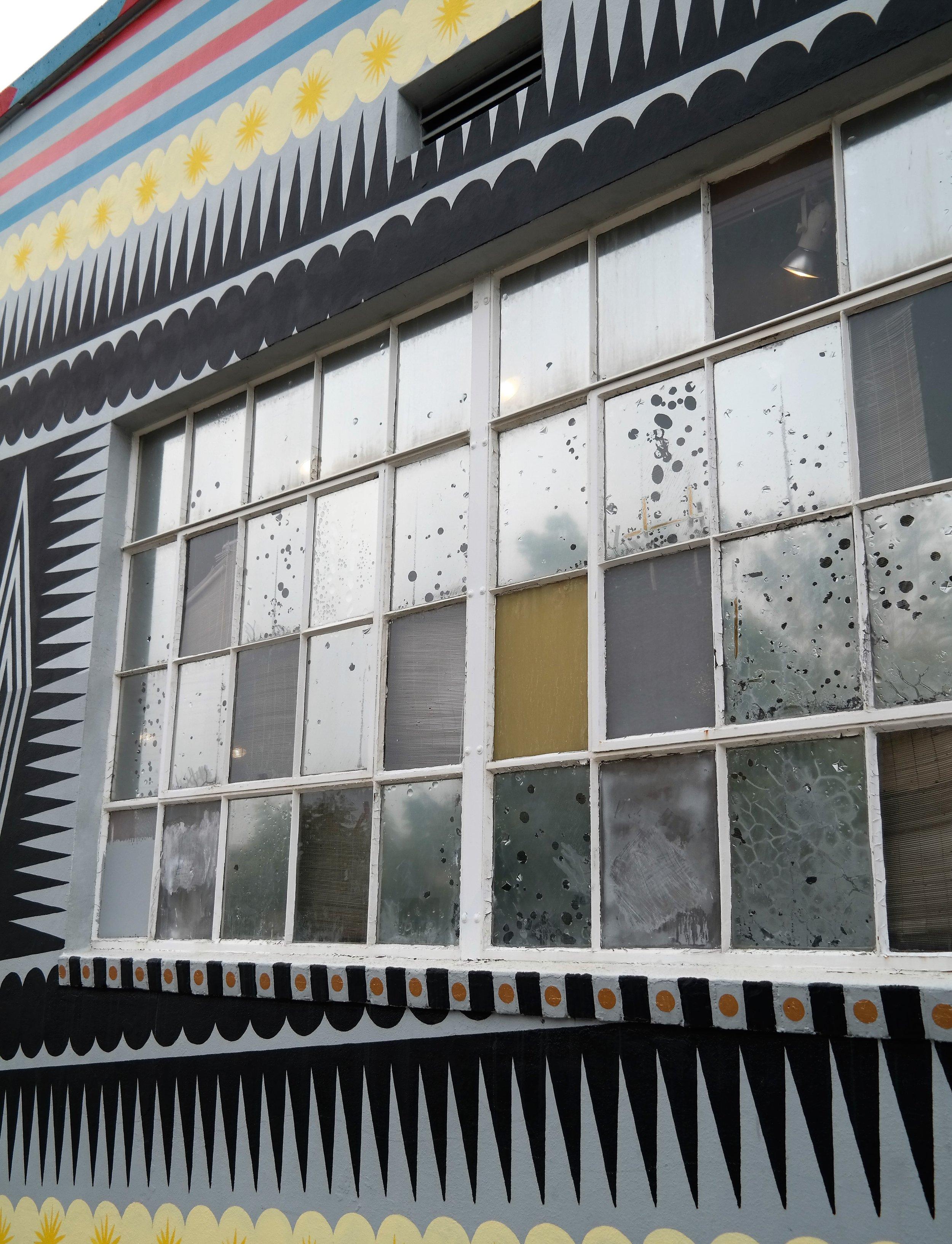 Pretty glass windows
