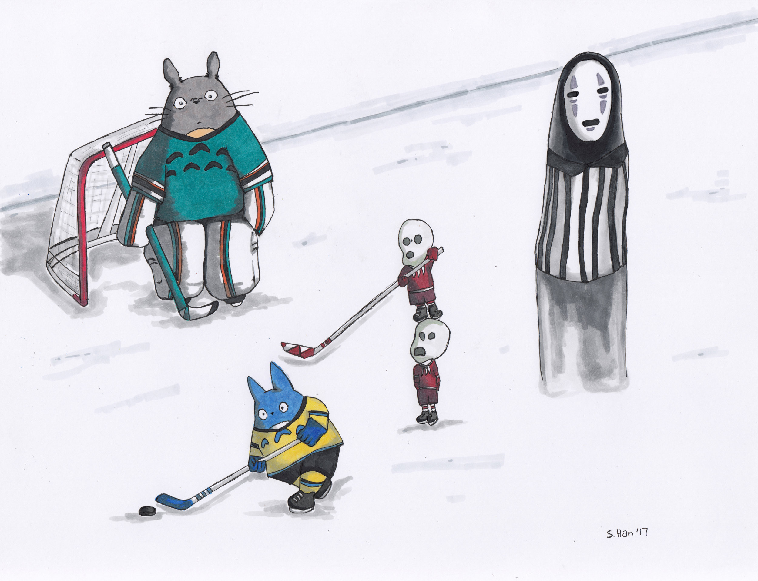 Ghibli Hockey