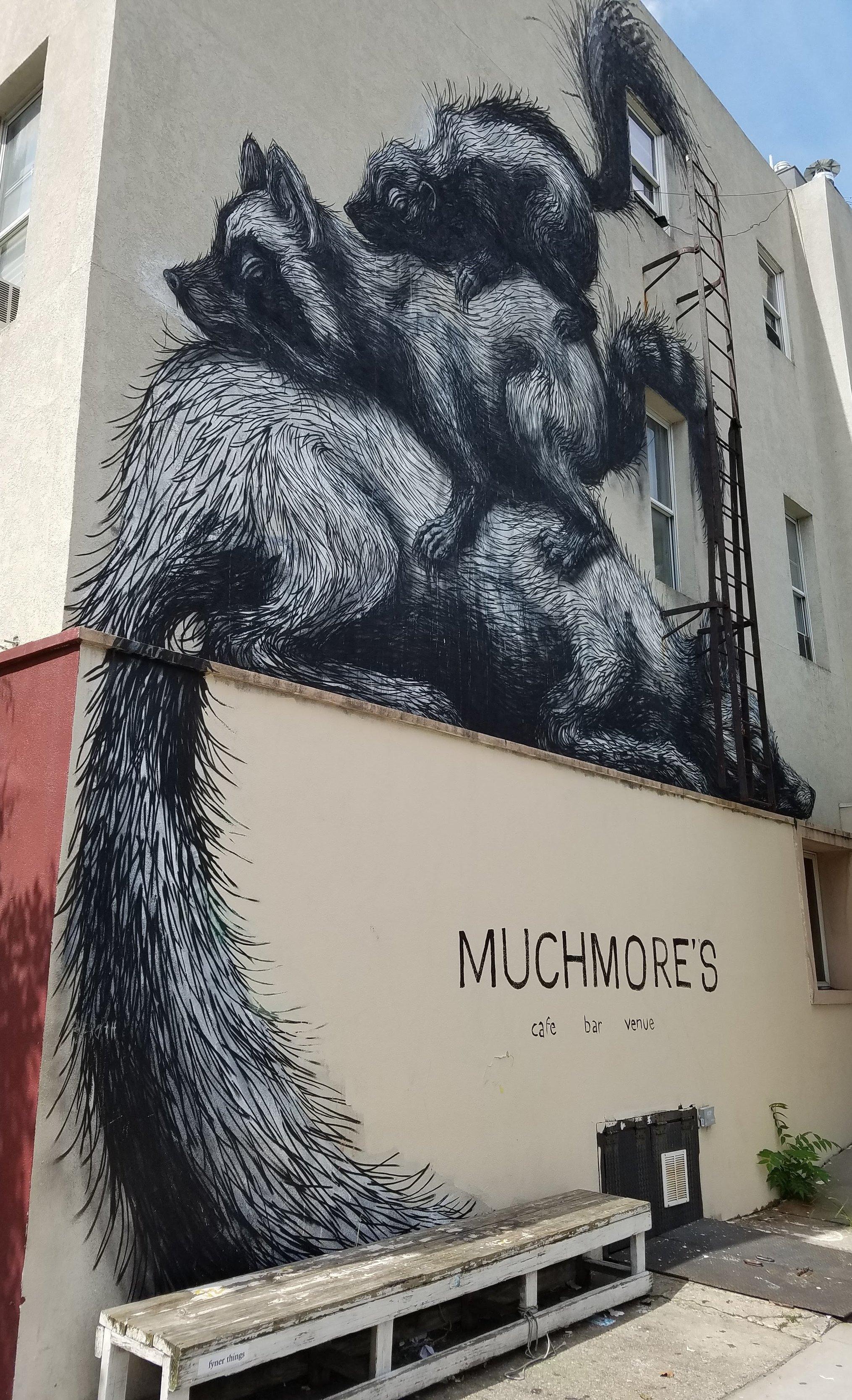 Mural in Williamsburg, Brooklyn.