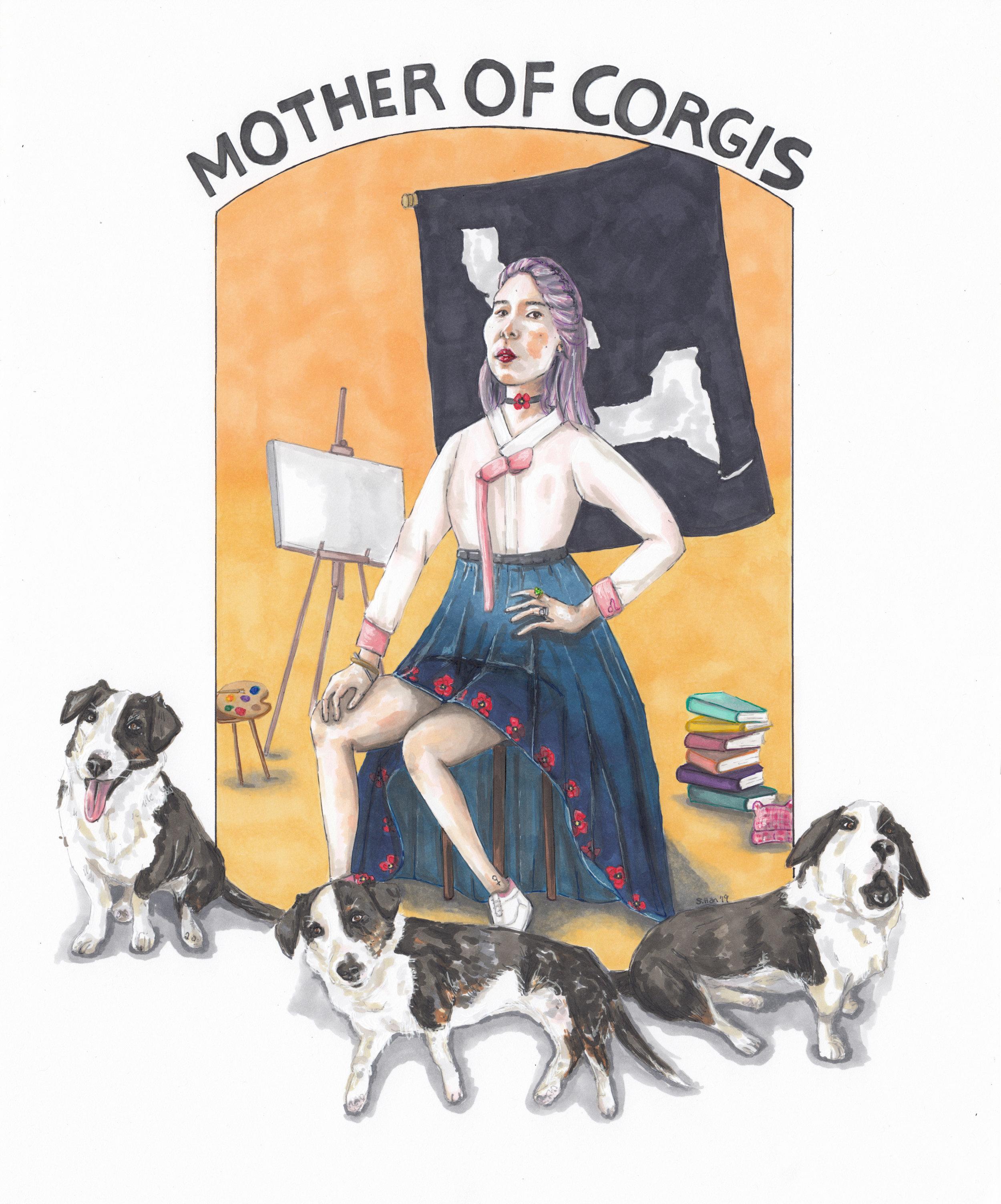 Mother of Corgis