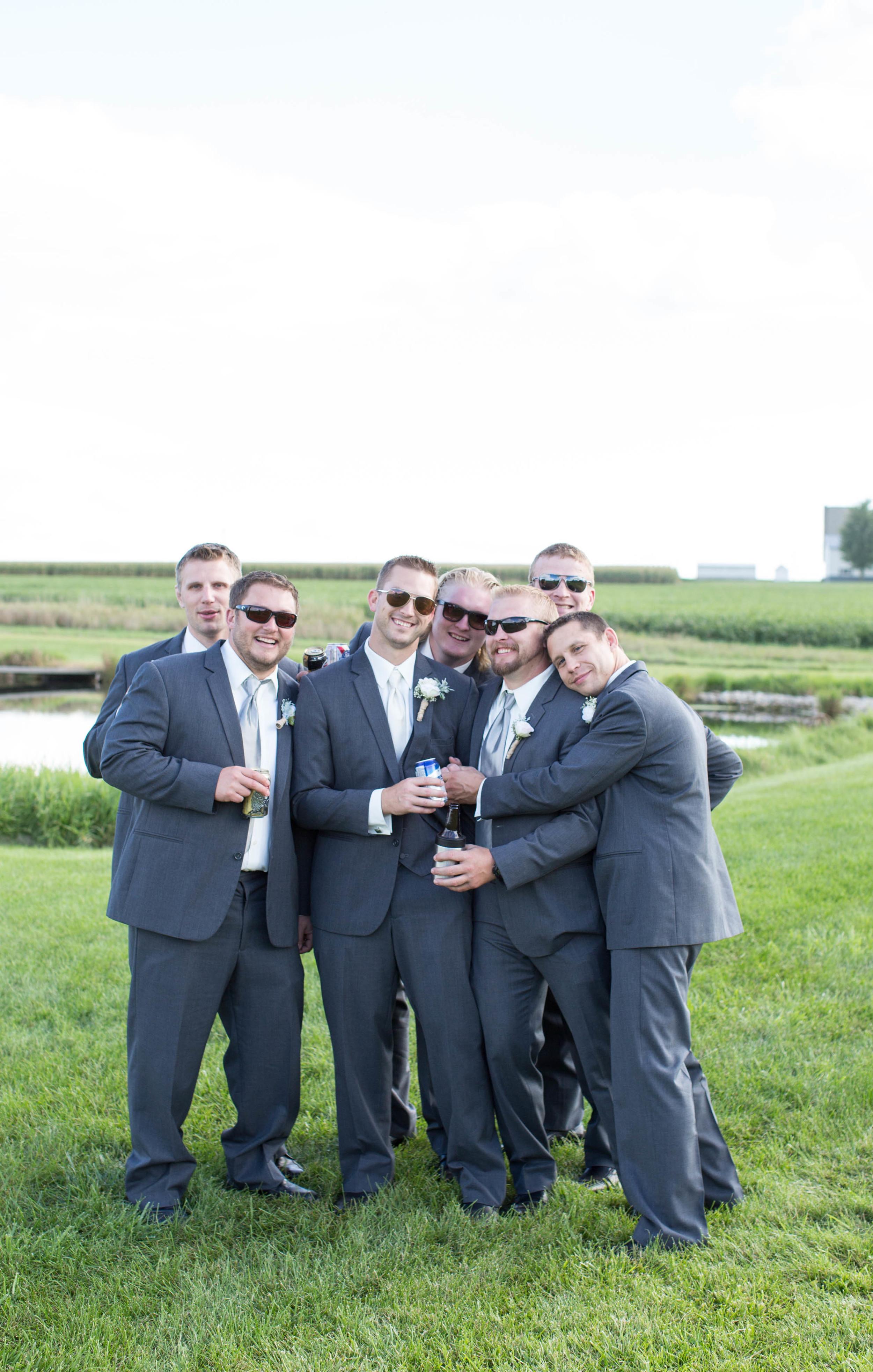 #mnwedding #mnphotographer #countrycharm  #groomsmen
