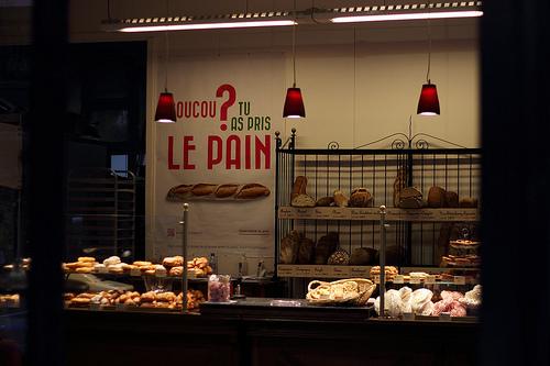 Coucou, tu as pris le pain? (嘿,你吃麵包了嗎?