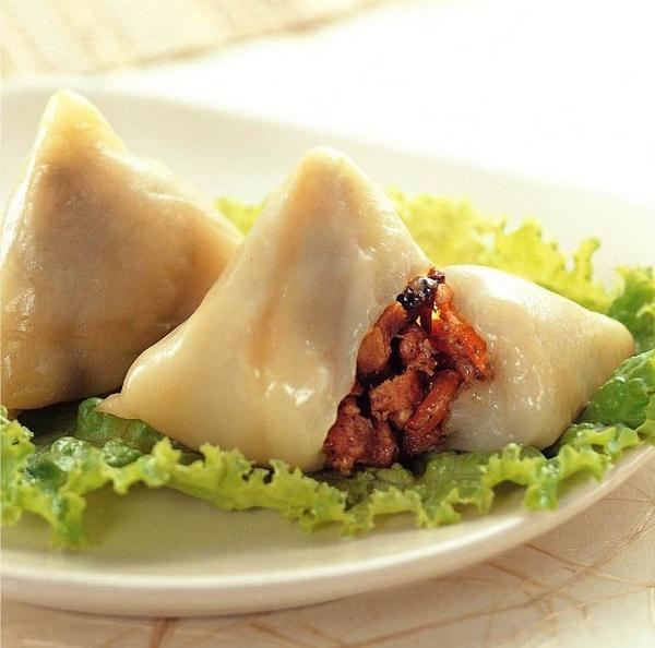▲客家粿粽餡料裡必有菜脯,除了增加口感外,也能提升香氣。