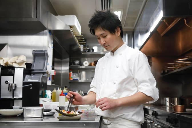 Head chef Yusuke Kitade 北出佑介.jpg