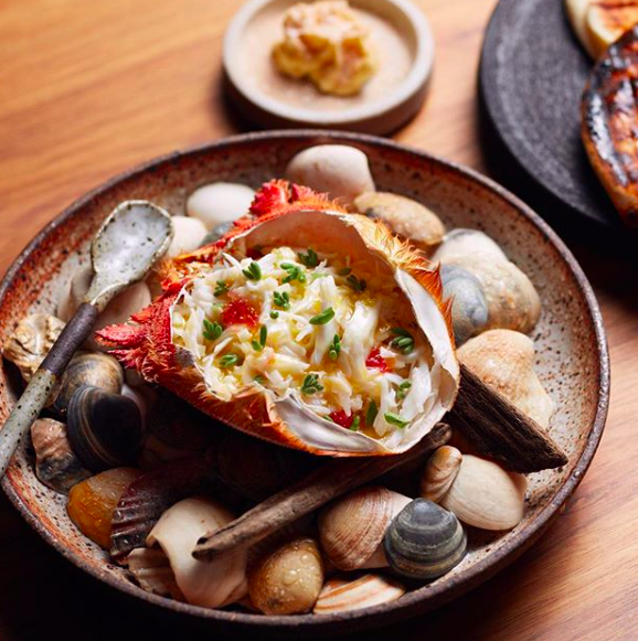 190104 Dish-Smoked Spanner Crab, Prawn Butter, Flat bread. .png