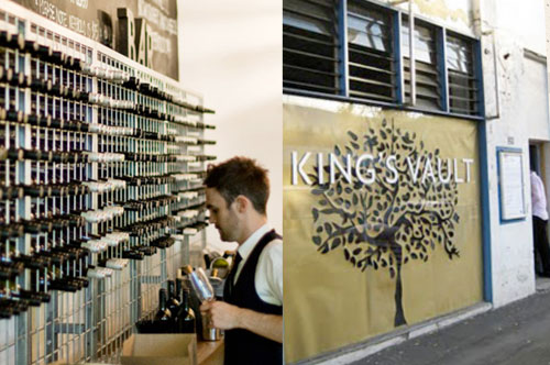 Kings Vault - Pop-up Bar in Darlinghurst showcasing King Valley wines