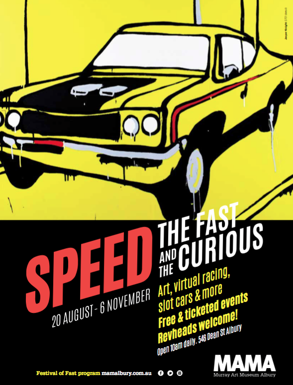 Print campaign for SPEED - broadening audiences at MAMA