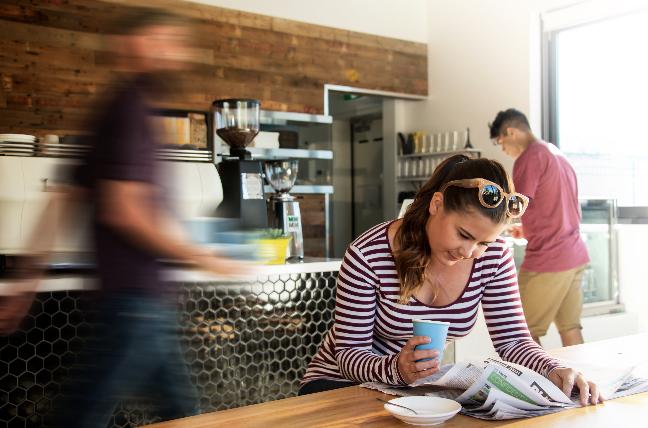 Albury's urban cafe culture