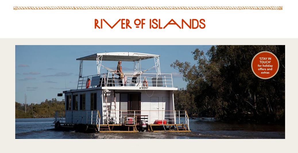 Website development – www.riverofislands.com