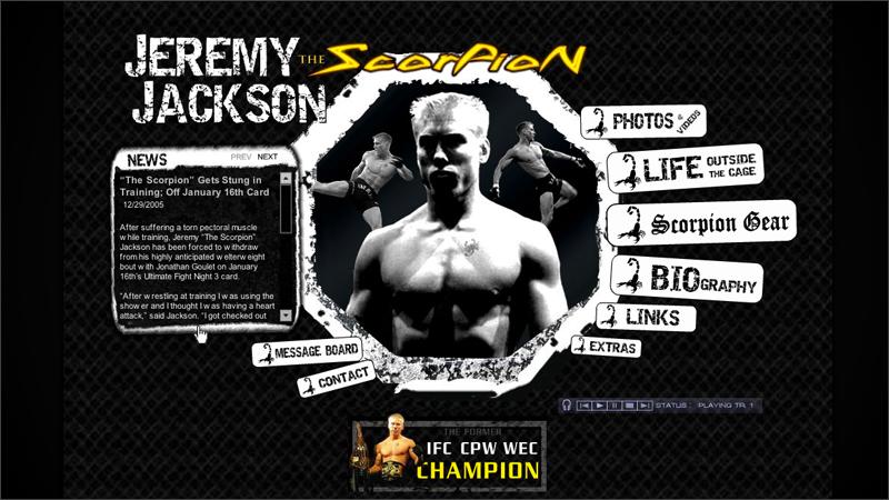Jeremy 'The Scorpion' Jackson