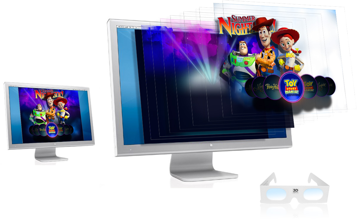 Holographic Website