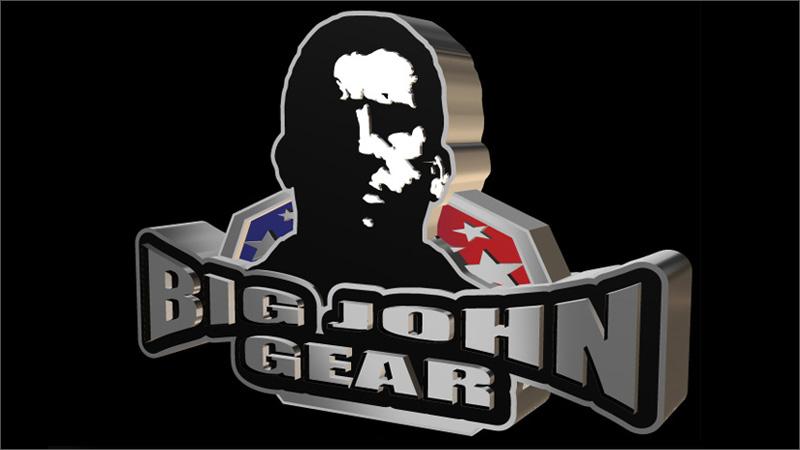 Big John McCarthy 3D Logo