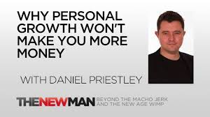 Daniel Priestly: The New Man Podcast - Daniel Priestly (author of Key Person on Influence) talks in depth here about how ego can limit our professional development and why true success will only come from spending more time creating, rather than consuming. One of the interesting concepts in this interview is the idea that personal development when approached the wrong way can be damaging, instead acting as a block to doing the things we need to clear hurdles and realise our potential.Link - http://bit.ly/Daniel_Priestley_New_Man_Pod