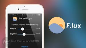 F.lux - f.lux coordinates your computer light settings to look like the room you're in, all the time. Adding to that when the sun sets, it makes your computer look like your indoor lights. In the morning, it makes things look like sunlight again. Perfect! Claims are it helps with sleeping immediately after a late night laptop session and its great for battery saving too!Link - https://justgetflux.com