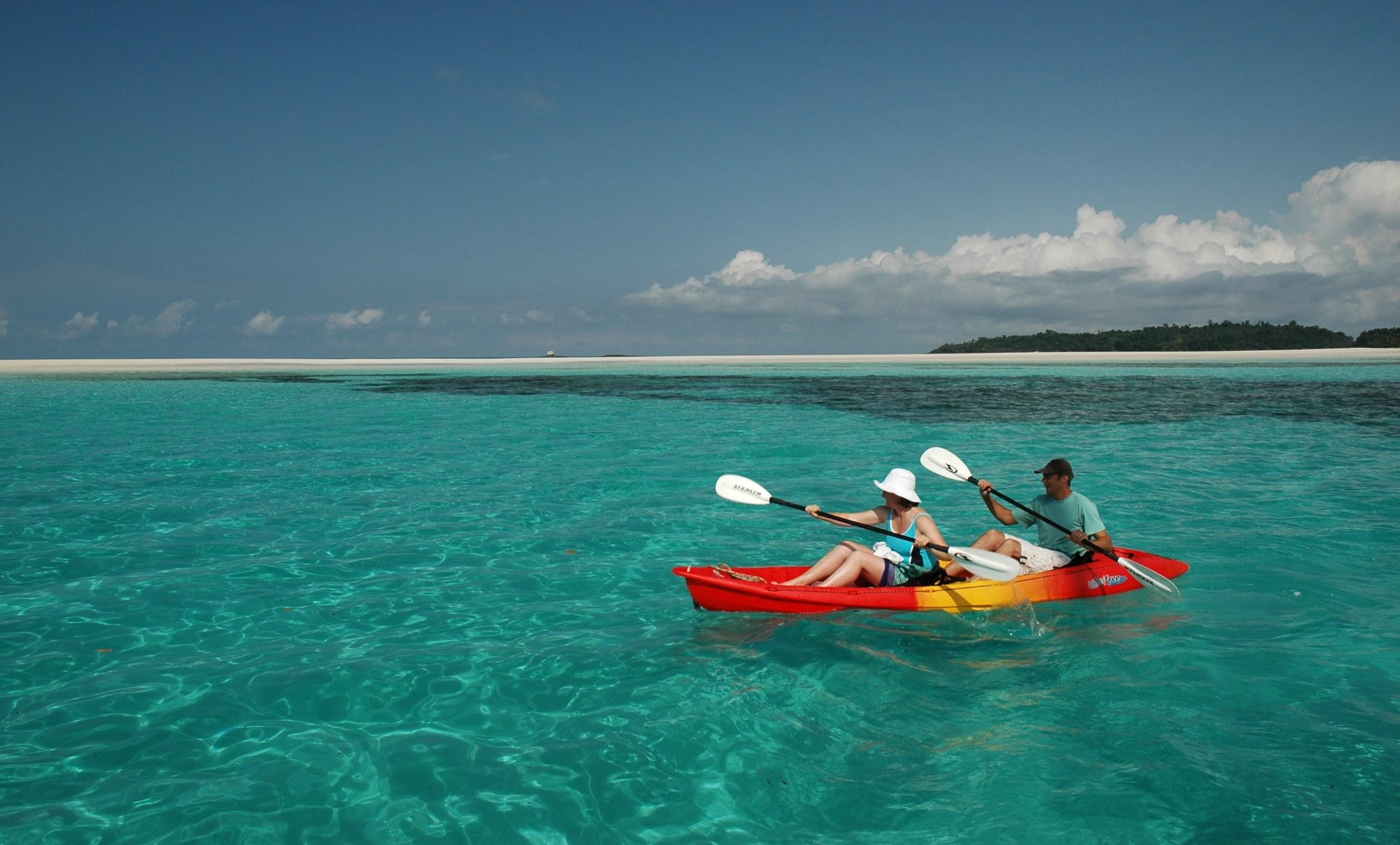 Kayaking holiday in Madagascar