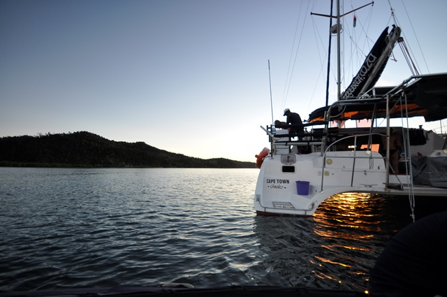 Stunning photo of a family charter yacht in Madagascar