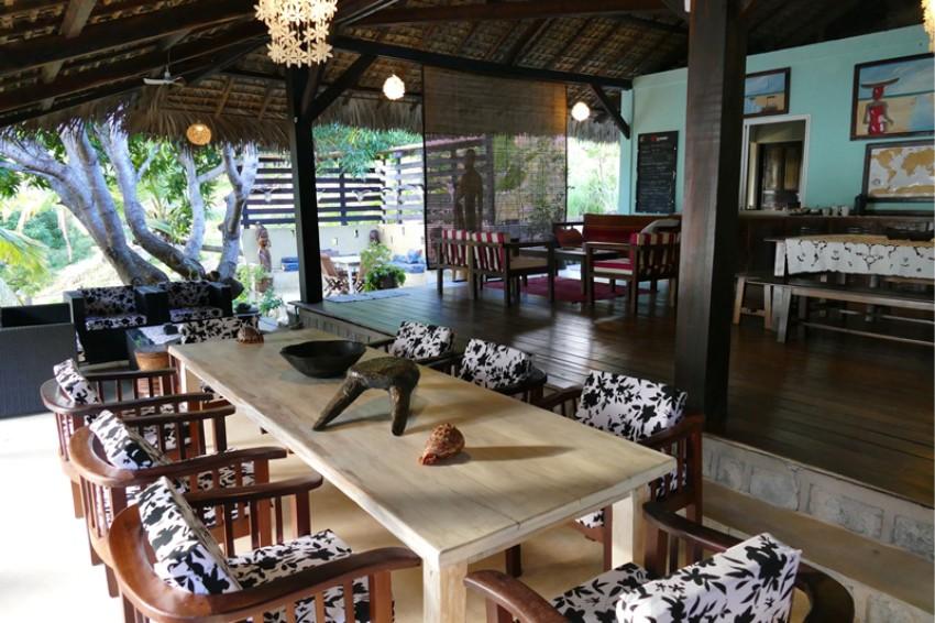 Dining Area at 293 On Komba, Nosy Ambariovato, Madagascar