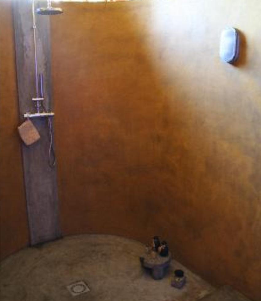 Shower at Eden Lodge