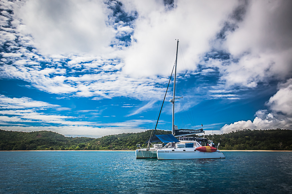 Boat charter holiday in Madagascar
